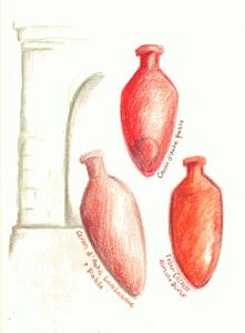 Urns, standing