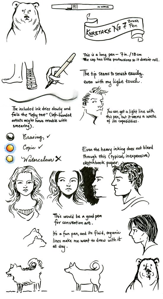 Kuretake No. 7 Brush Pen