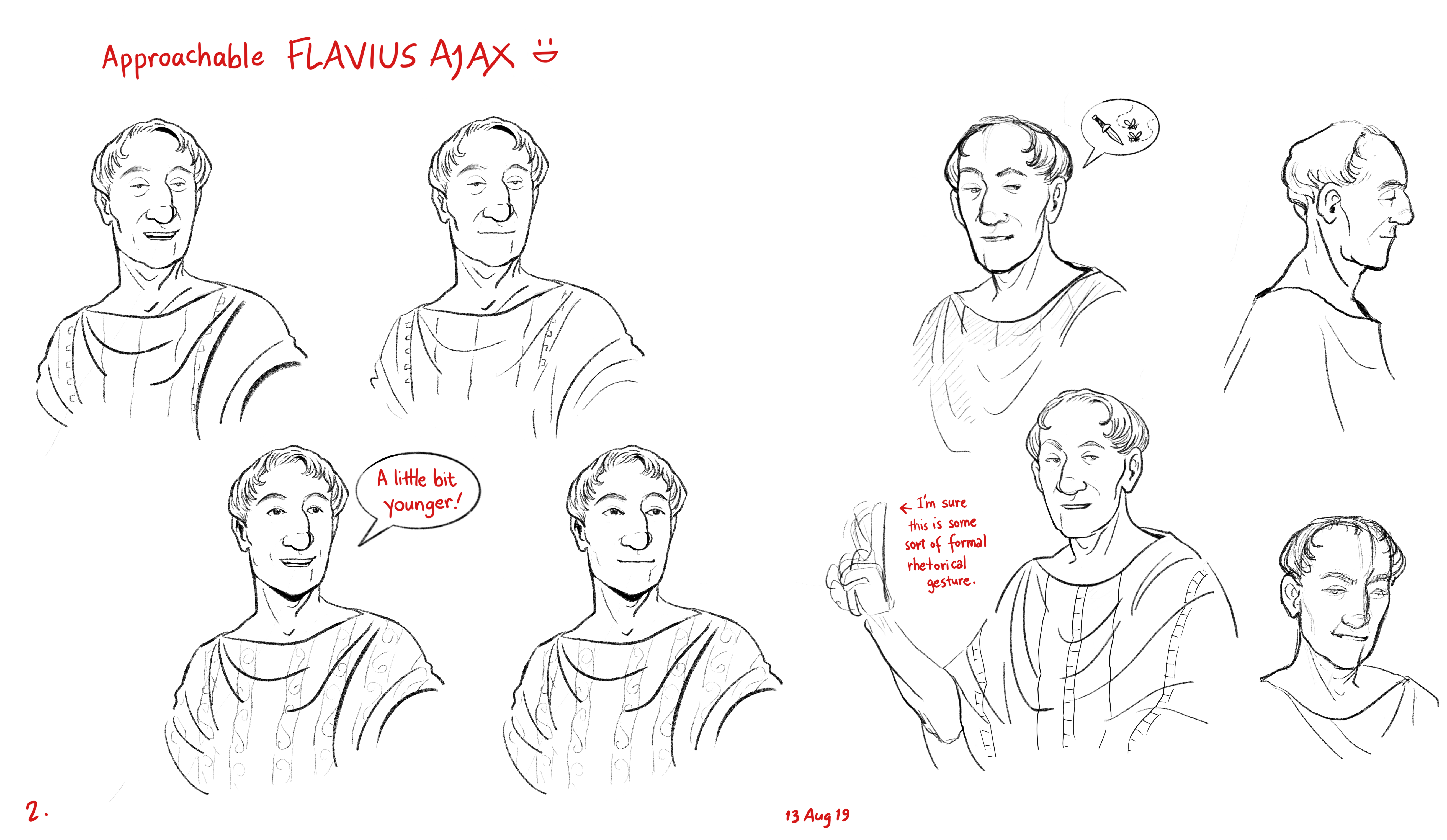 Ajax: sketches for nonfiction book