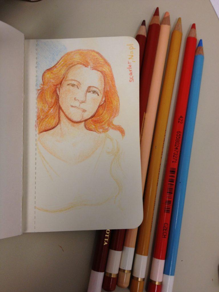 Utrecht pencil doodle