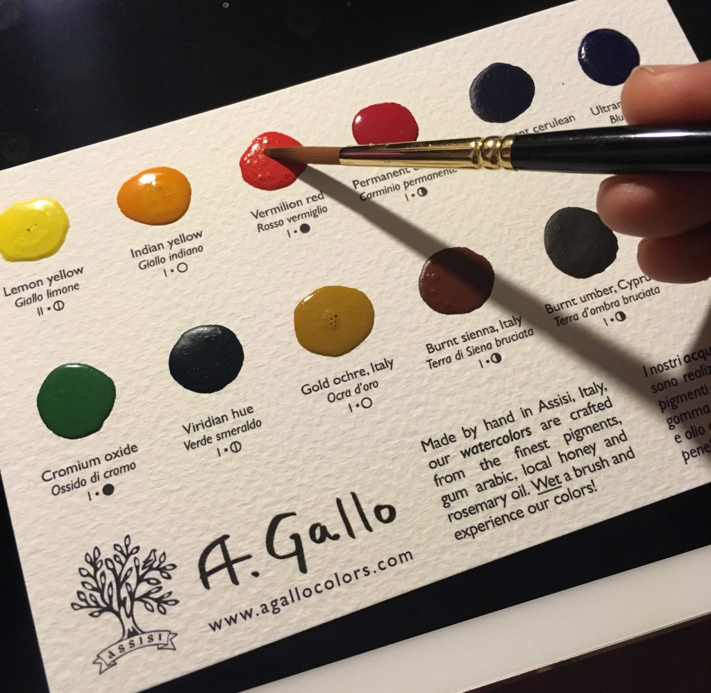A. Gallo dot card