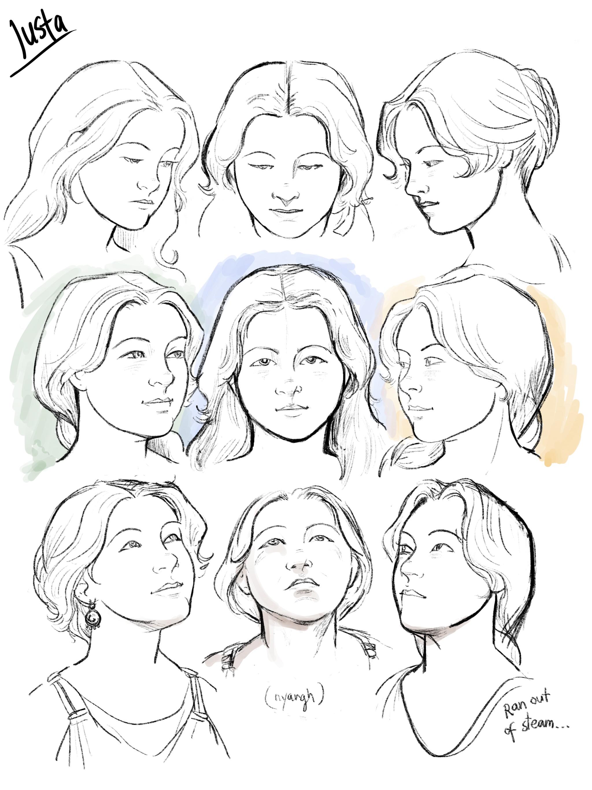 Head studies: Iusta