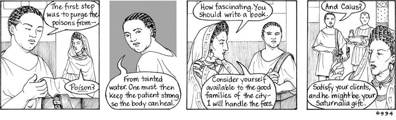 The medicus is suspicious