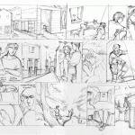 24-Hour Comics Day 2010, hour 1
