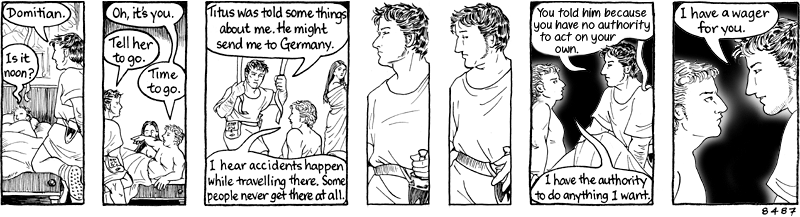 In which Felix almost solves Rome's future problems but decides not to draw.