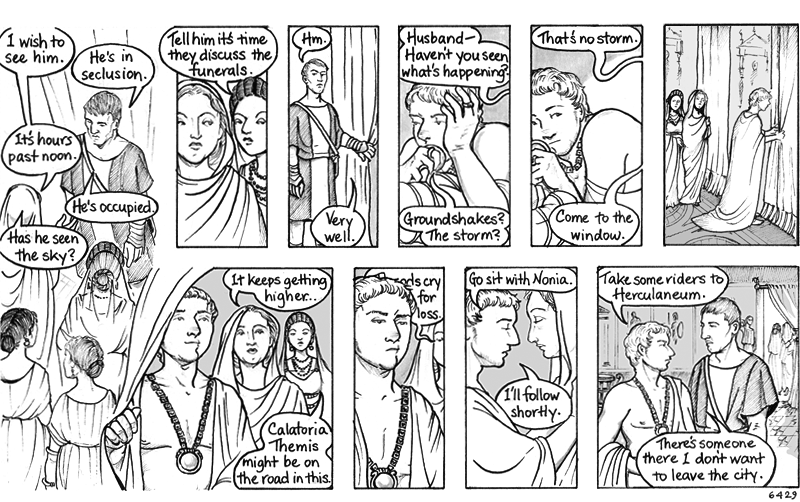 Yuck, I do NOT like how the missing panel eventually turned out. But I'm going to try to let it go. Let it go. Let it go. (It's not working.)
