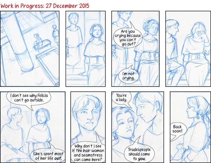Chapter V: XXXIV – Work in Progress