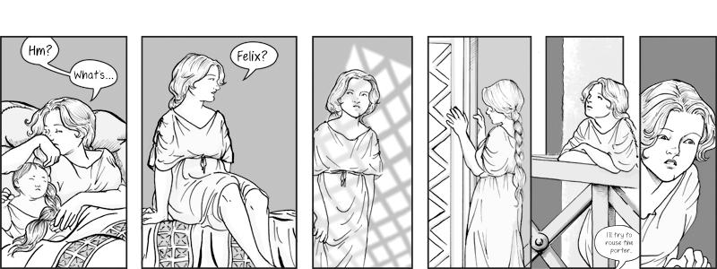 Chapter V: LXXIII, row 1